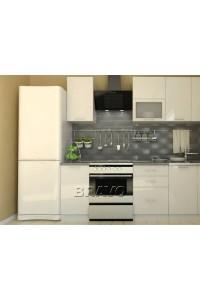 Валерия-М-02 Белый глянец, , 24,100 руб., Валерия-М-02,  BRAVO, Модульные кухни
