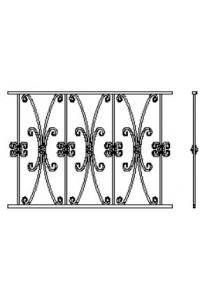 ПБЛ 8 , , 0 руб., ПБЛ 8 , Протект ковка, Перила и решетки