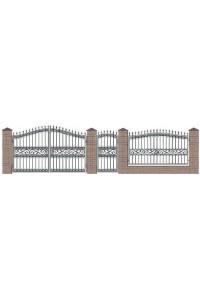 Ворота №14, , 0 руб., Ворота №14, Протект ковка, Ворота