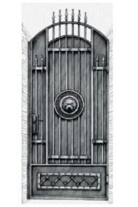 Античная Лев в кольце, , 0 руб., Античная Лев в кольце, Протект ковка, Калитки
