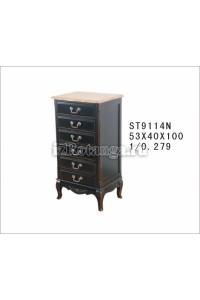 """Высокий комод ST9114N, , 39,258 руб., ST9114N, Mobilier de maison, Мебель для спальни """"Прованс"""""""