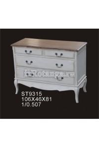 """Комод на четыре ящика """"Леонтина"""", , 46,307 руб., Леонтина, Mobilier de maison, Мебель для спальни """"Прованс"""""""